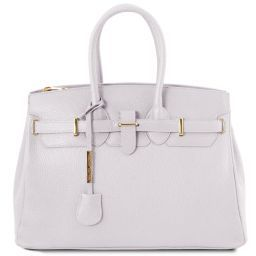 TL Bag Borsa a mano con accessori oro Bianco TL141529