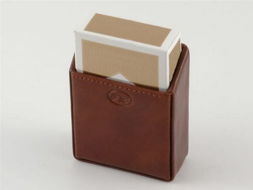 Leather cigarette holder Brown TL140270