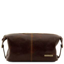 Roxy Beauty case en piel Marrón oscuro TL140349