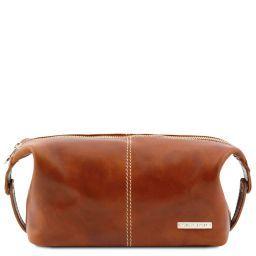 Roxy Leather toilet bag Honey TL140349