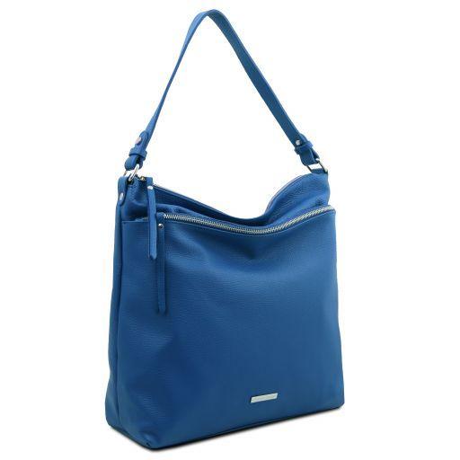 TL Bag Soft leather shoulder bag Blue TL141874