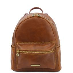 Sydney Leather backpack Honey TL141979