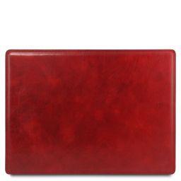 Schreibtischunterlage aus Leder Rot TL141892