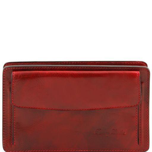 Denis Esclusivo borsello a mano in pelle Rosso TL141445