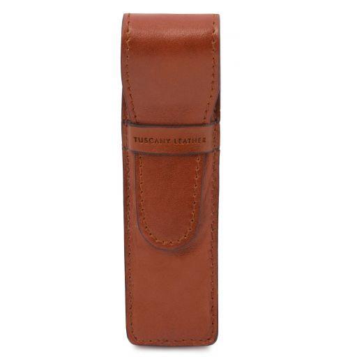 Exclusivo portaboligrafo en piel Miel TL141274