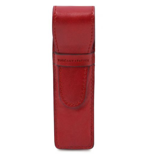 Exclusive leather pen holder Red TL141274