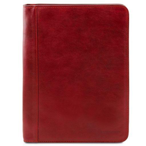 Ottavio Esclusivo portadocumenti in pelle Rosso TL141294