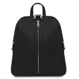 TL Bag Soft leather backpack for women Черный TL141982