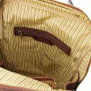 Bangkok Leather laptop backpack - Large size Brown TL141987