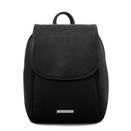 TL Bag Zaino in pelle morbida Nero TL141905