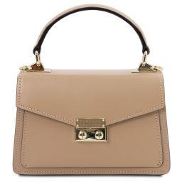 TL Bag Mini-Tasche aus Leder Champagne TL141994
