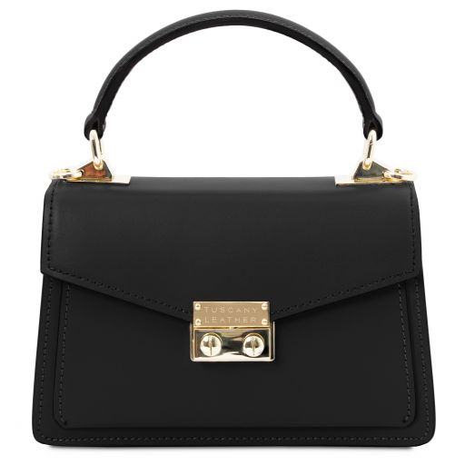TL Bag Mini-Tasche aus Leder Schwarz TL141994