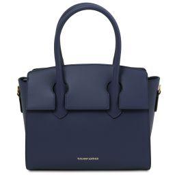 Brigid Leather handbag Темно-синий TL141943