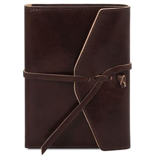 Leather journal / notebook Dark Brown TL142027
