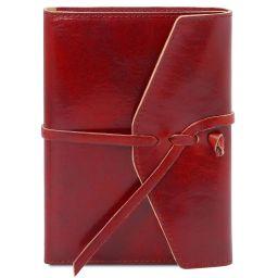 Diario / Taccuino in pelle Rosso TL142027