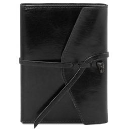 Leather journal / notebook Black TL142027