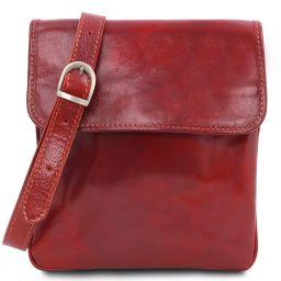 Joe Leather Crossbody Bag Red TL140987