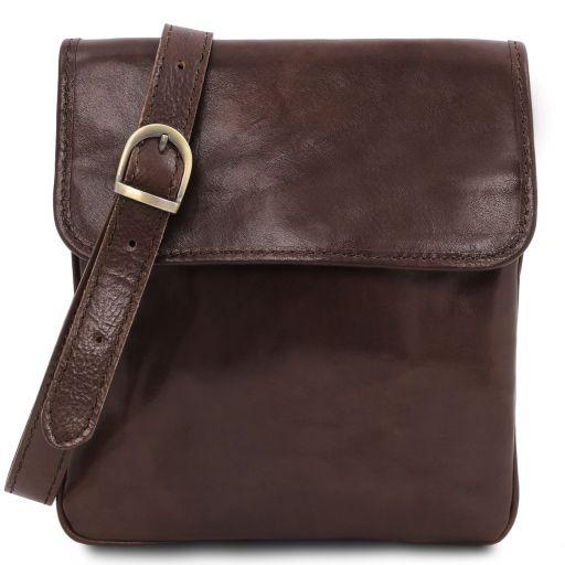 Joe Кожаная сумка через плечо Темно-коричневый TL140987