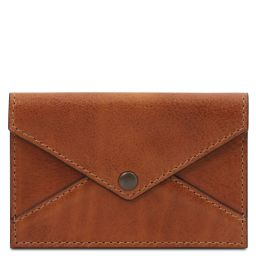 Leather business card / credit card holder Мед TL142036