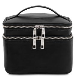 Eliot Beauty case en piel Negro TL142045