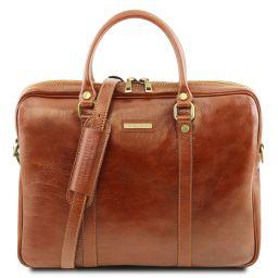 Prato Эксклюзивная кожаная сумка для ноутбука Мед TL141283