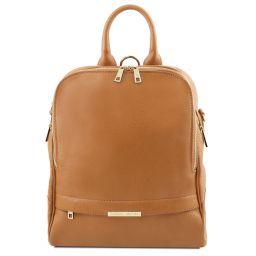 TL Bag Soft leather backpack for women Мед TL141376
