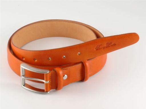 Esclusiva cintura in pelle Arancio TL140320