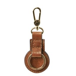 Leather key holder Natural TL141922