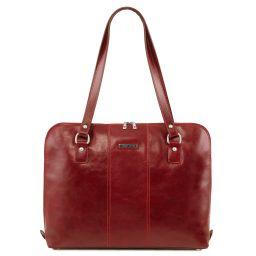 Ravenna Esclusiva borsa business per donna Rosso TL141795