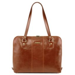 Ravenna Exclusivo maletín para mujer Miel TL141795