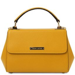 TL Bag Bolso noche en piel - Modelo pequeño Amarillo TL142076