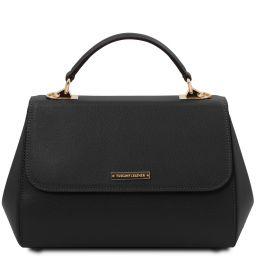 TL Bag Leather handbag - Large size Black TL142077