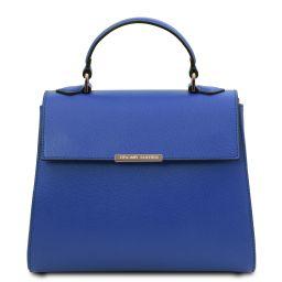 TL Bag Small leather duffel bag Blue TL142051
