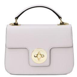 TL Bag Leather handbag White TL142078