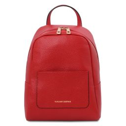 TL Bag Mochila pequeño en piel suave para mujer Rojo Lipstick TL142052