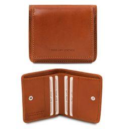 Esclusivo portafoglio in pelle con portamonete Miele TL142059