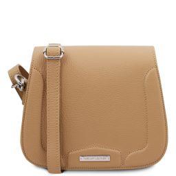 Jasmine Leather shoulder bag Champagne TL141968