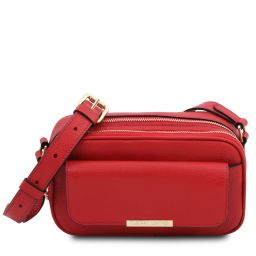 TL Bag Leather camera bag Lipstick Red TL142084