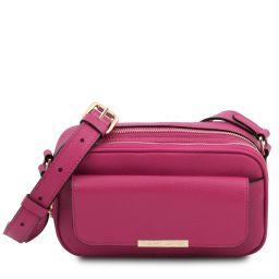 TL Bag Sac caméra en cuir Fuchsia TL142084