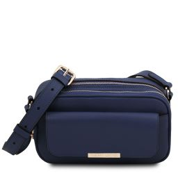 TL Bag Camera bag in pelle Blu scuro TL142084
