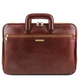 Caserta Dokumenten - Tasche aus Leder Braun TL142070