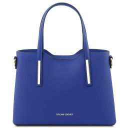 Olimpia Leather tote - Small size Синий TL141521