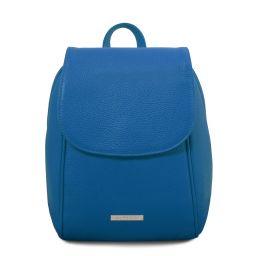 TL Bag Mochila en piel suave Azul TL141905