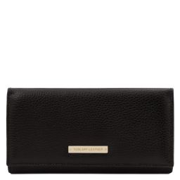 Nefti Exclusive soft leather wallet for women Black TL142053