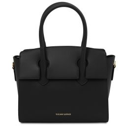 Brigid Leather handbag Black TL141943