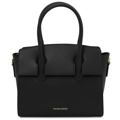 Brigid Leather handbag Black TL141943