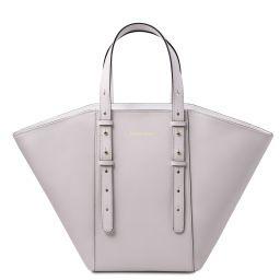 TL Bag Sac cabas en cuir Blanc TL142123