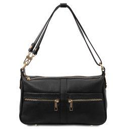 TL Bag Leather shoulder bag Black TL142133