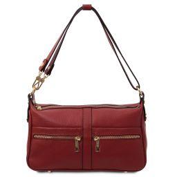 TL Bag Leather shoulder bag Red TL142133