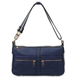 TL Bag Sac bandoulière en cuir Bleu foncé TL142133